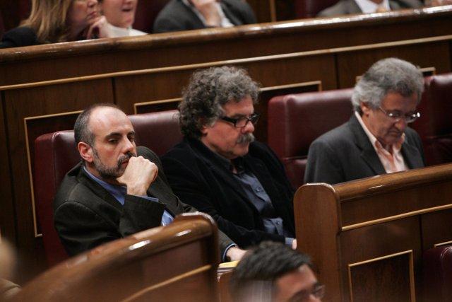 Ridao y los diputados de Esquerra (ERC)