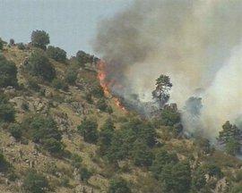 Detenido un vecino de Sanxenxo (Pontevedra) por un incendio forestal causado por una quema sin medidas seguridad