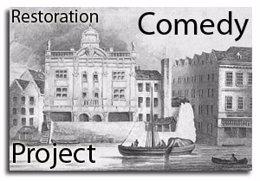 Portada de la base de datos sob re comedia de la Restauración inglesa