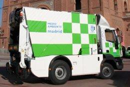 Camión de basura eléctrico de FCC