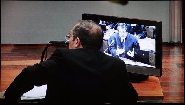 El acusado Francisco Soriano declarando a preguntas de su abogado