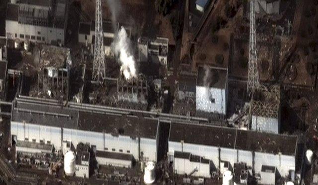 Central nuclear de Fukushima (Japón)