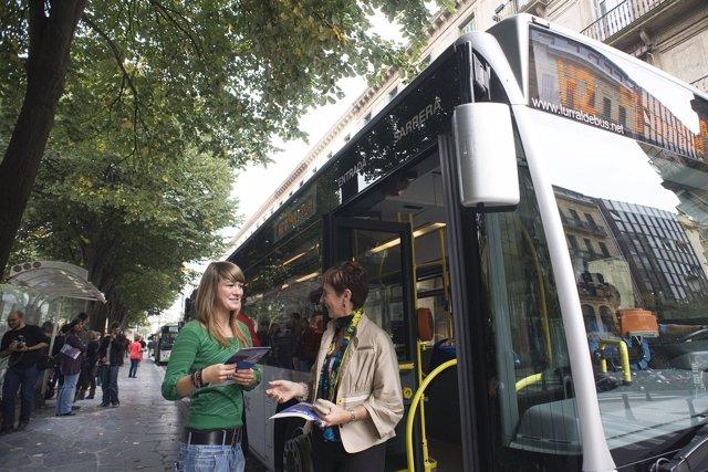 Autobús de Lurraldebus.