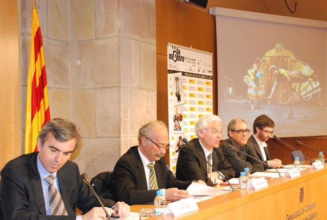 Rueda de prensa presentación Mostra d'Igualada