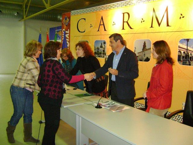 Acto en el CADE Carmona