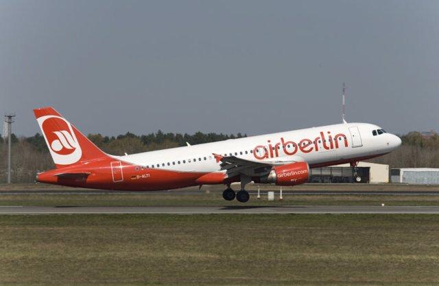 Avión de Air Berlin