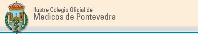 Logo del Colegio Oficial de Médicos de Pontevedra
