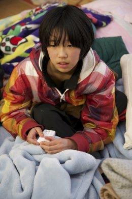Víctima del tsunami de Japón