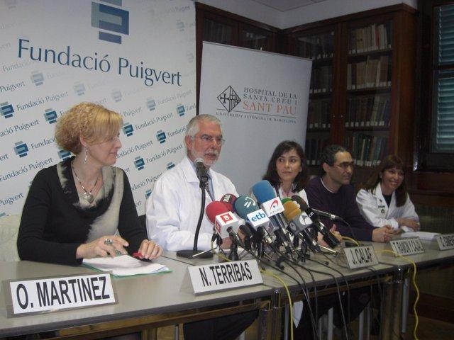 Equipo de Reproducción Asistida del Hospital Sant Pau y la Fundación Puigvert