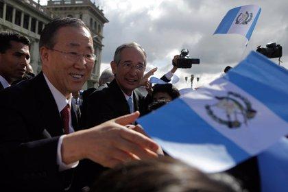 Centroamérica.- Ban Ki Moon pide mayores esfuerzos para acabar con el crimen organizado en Centroamérica
