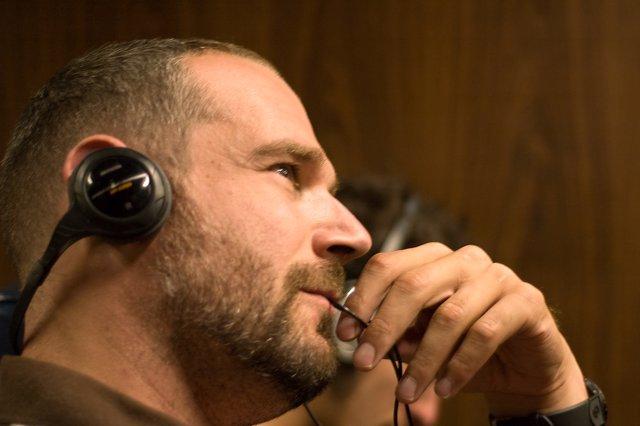 Escuchando musica, auriculares