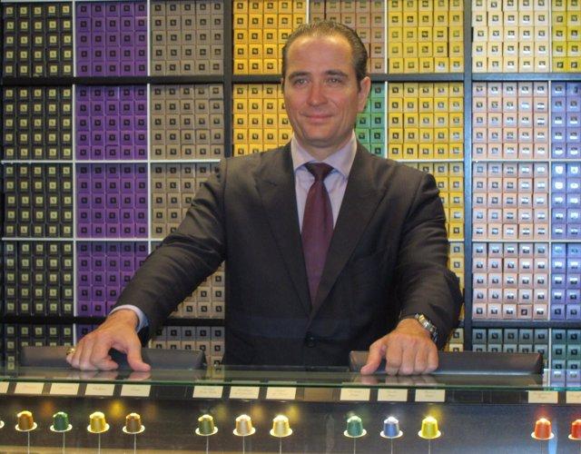Vincent Termote, director general de Nespresso para España y Portugal