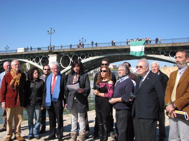 Pilar González participa hoy en un acto en defensa de la gestión del Guadalquivi