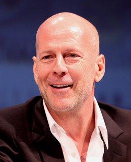 Bruce Willis, calvo, hombre