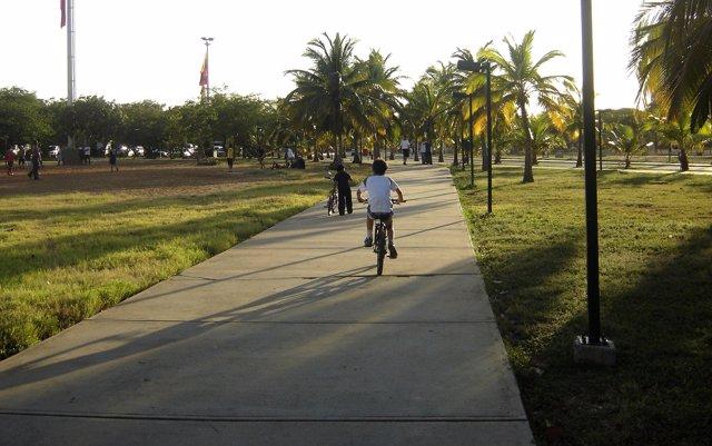 niño bicicleta