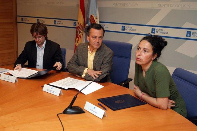 O conselleiro de Medio Ambiente, Territorio e Infraestruturas, Agustín Hernández