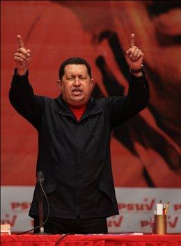 El presidente venezolano, Hugo Chávez.