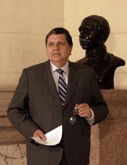 El presidente peruano, Alan García.