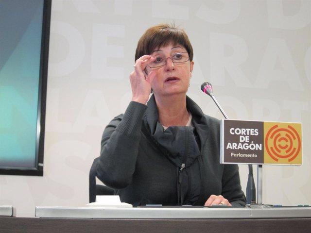 La consejera de Salud, Luisa María Noeno