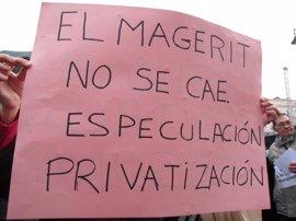 """Hidalgo dice que el tema de los centros ocupacionales está """"agotado"""" y se sigue trabajando con las familias y sindicatos"""