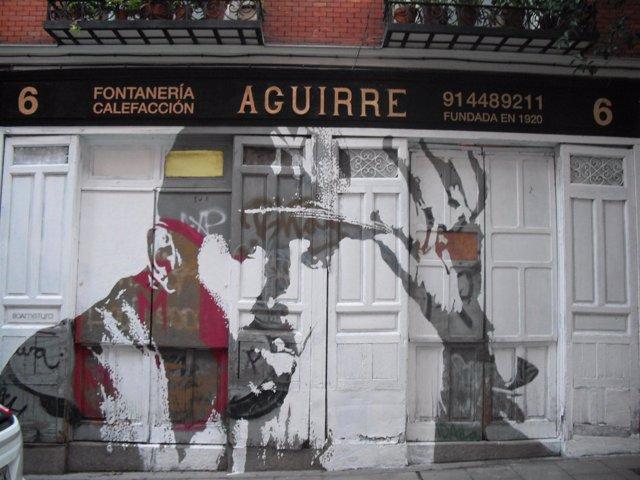 Fachada de la Fontanería Aguirre