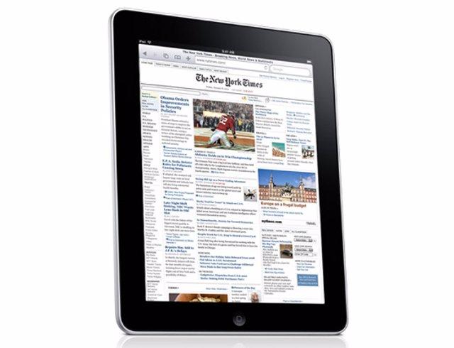 The New York Times en el iPad
