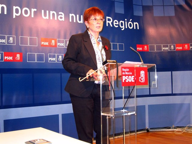 Candidata PSOE a la Comunidad, Begoña García Retegui
