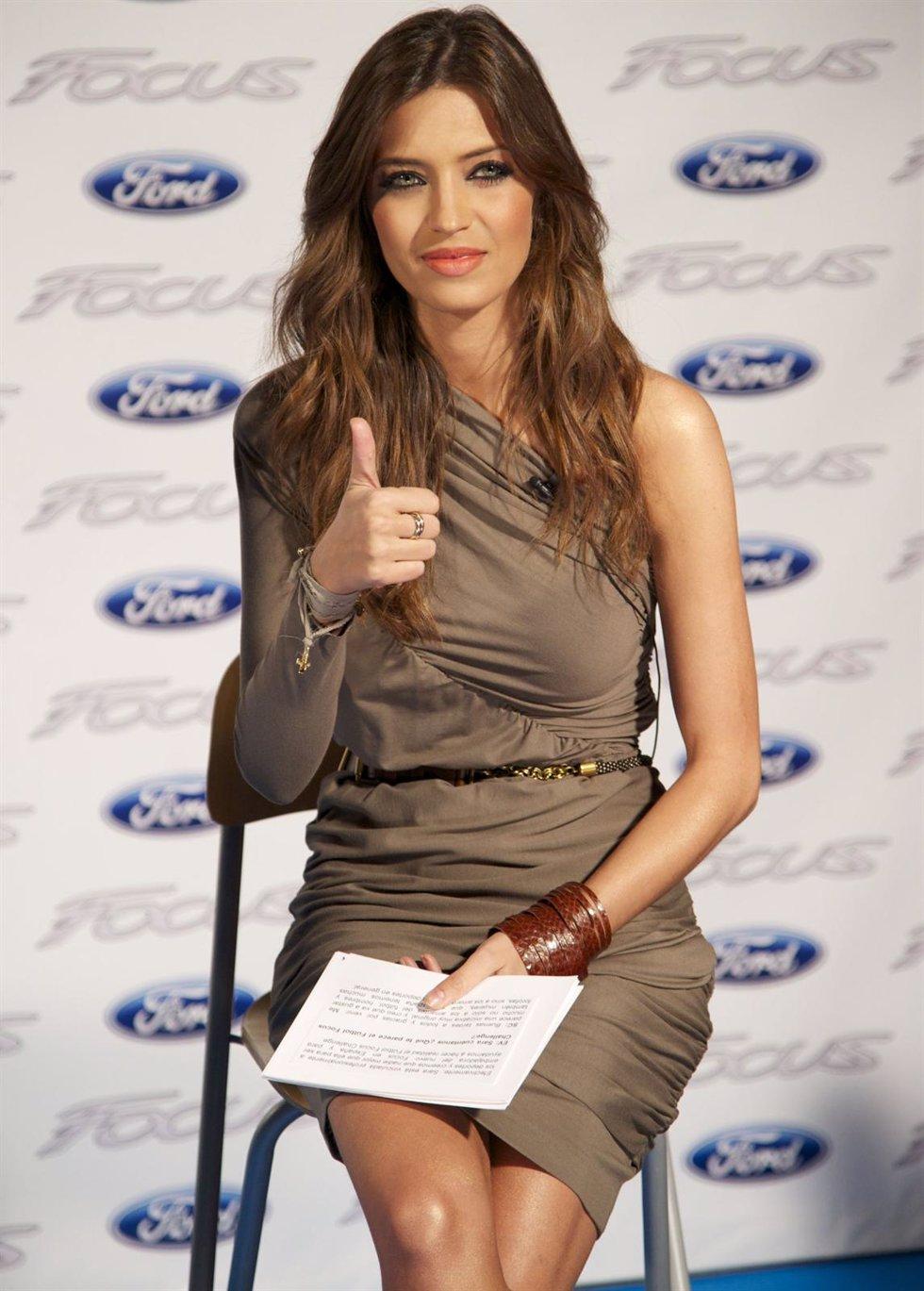 Sara Carbonero en una presentación de Ford