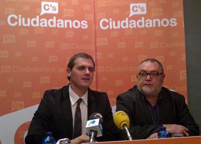 Víctor Domingo y Alberto Rivera