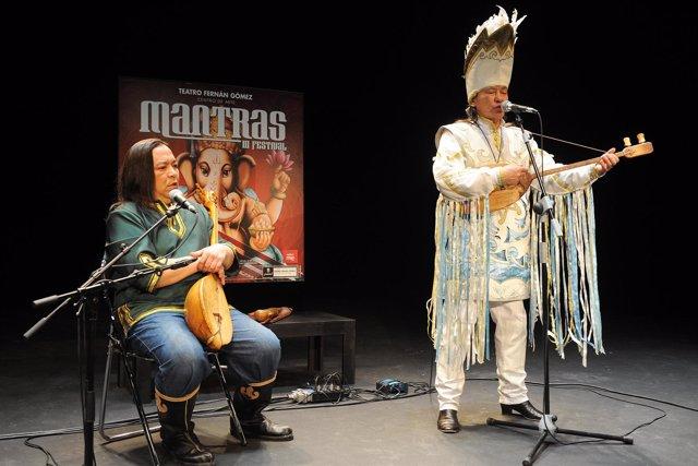 Presentación del III Festival Mantras