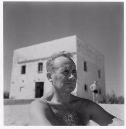 Joan Miró a la platja de Mont-Roig