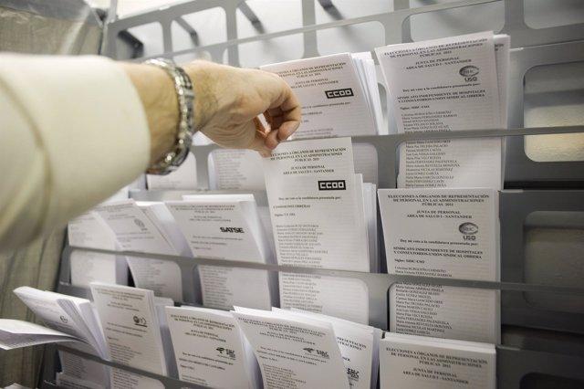 Elecciones sindicales en el Servicio Cántabro de Salud