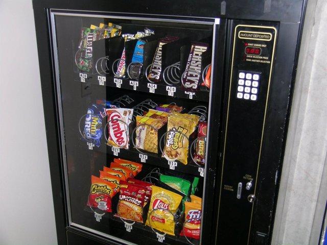Máquina de comida