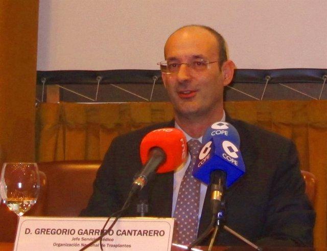 Gregorio Garrido, jefe de servicio médico de la ONT