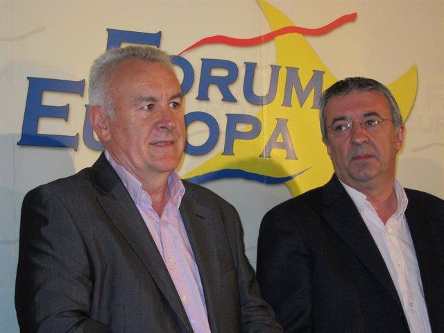 Cayo Lara y gregorio Gordo