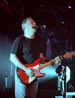 El ex guitarrista de Pink Floyd David Gilmour