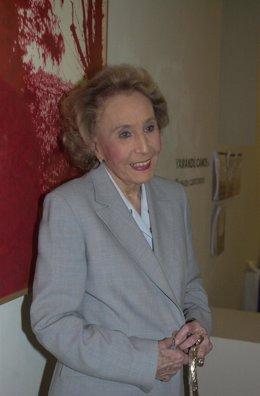 La escritora Mercedes Salisachs