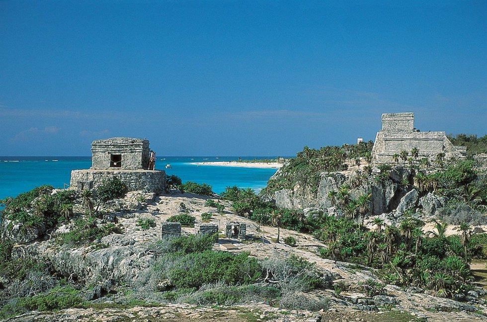 Ruinas mayas en México