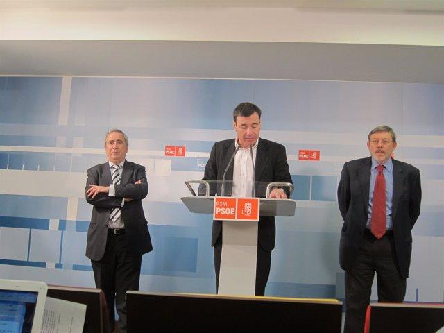 Gómez, Lissavetzky y Cascallana en Callao