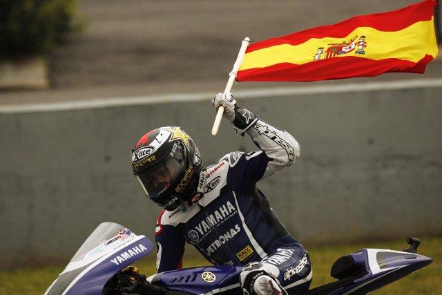 Jorge Lorenzo, vencedor en Jerez