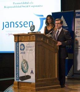 El consejero director de Negocio y Relaciones Institucionales de Janssen, Antoni