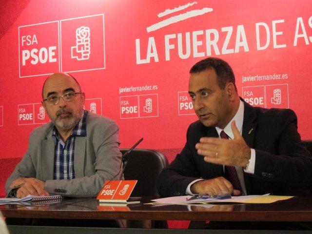 Vicente Herranz y Fernando Lastra.