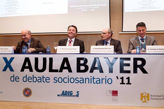 X Aula Bayer que se celebra en Valencia