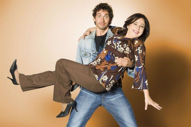 Carmen Machi y Paco León en Aída