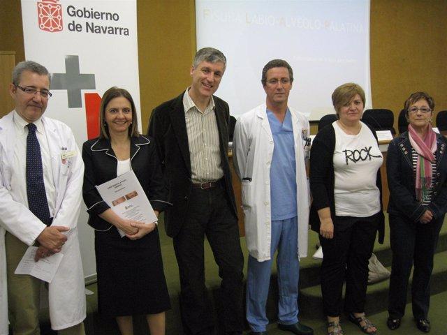 Gimeno, Lahoz, Garatea, Gorriarán, Arrieta y Arregui.