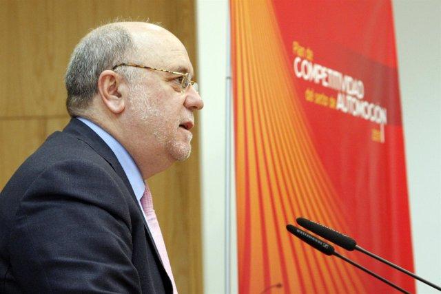 Juan José Sota, consejero de Industria