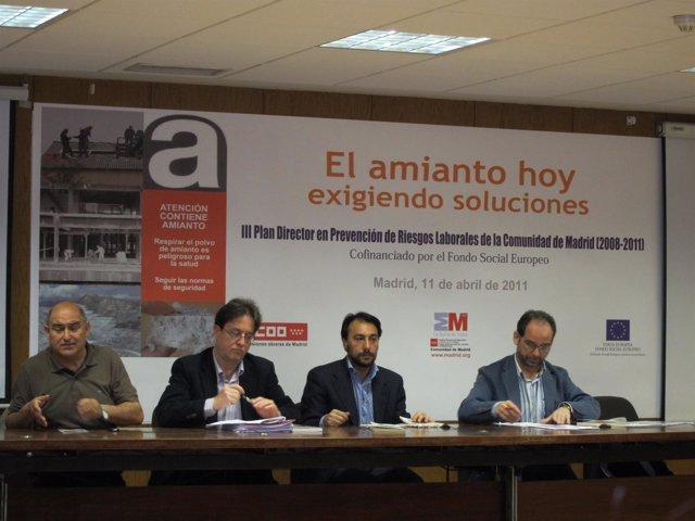 Jornada 'El Amianto Hoy. Exigiendo Soluciones'