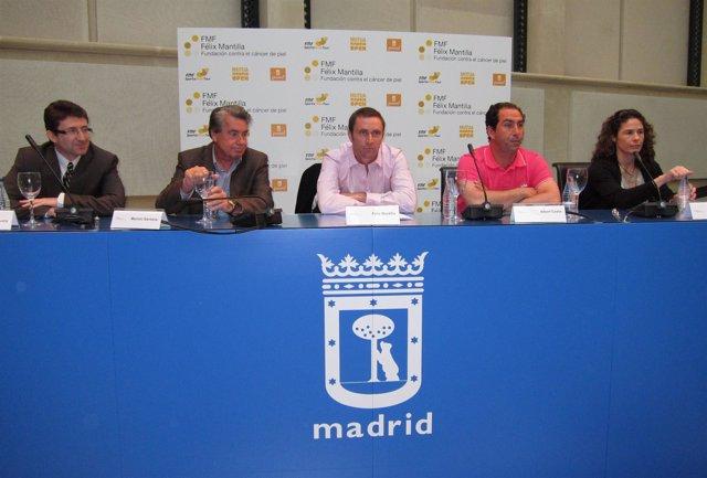 Josep Malvehy, Manolo Santana, Félix Mantilla, Albert Costa y Vivi Ruano.