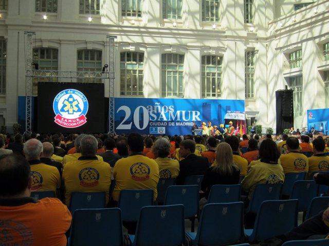 Celebración de los 20 años del Samur