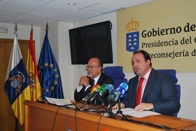 Viceconsejero De Turismo Del Gobierno De Canarias, Ricardo Fernández (Dch)